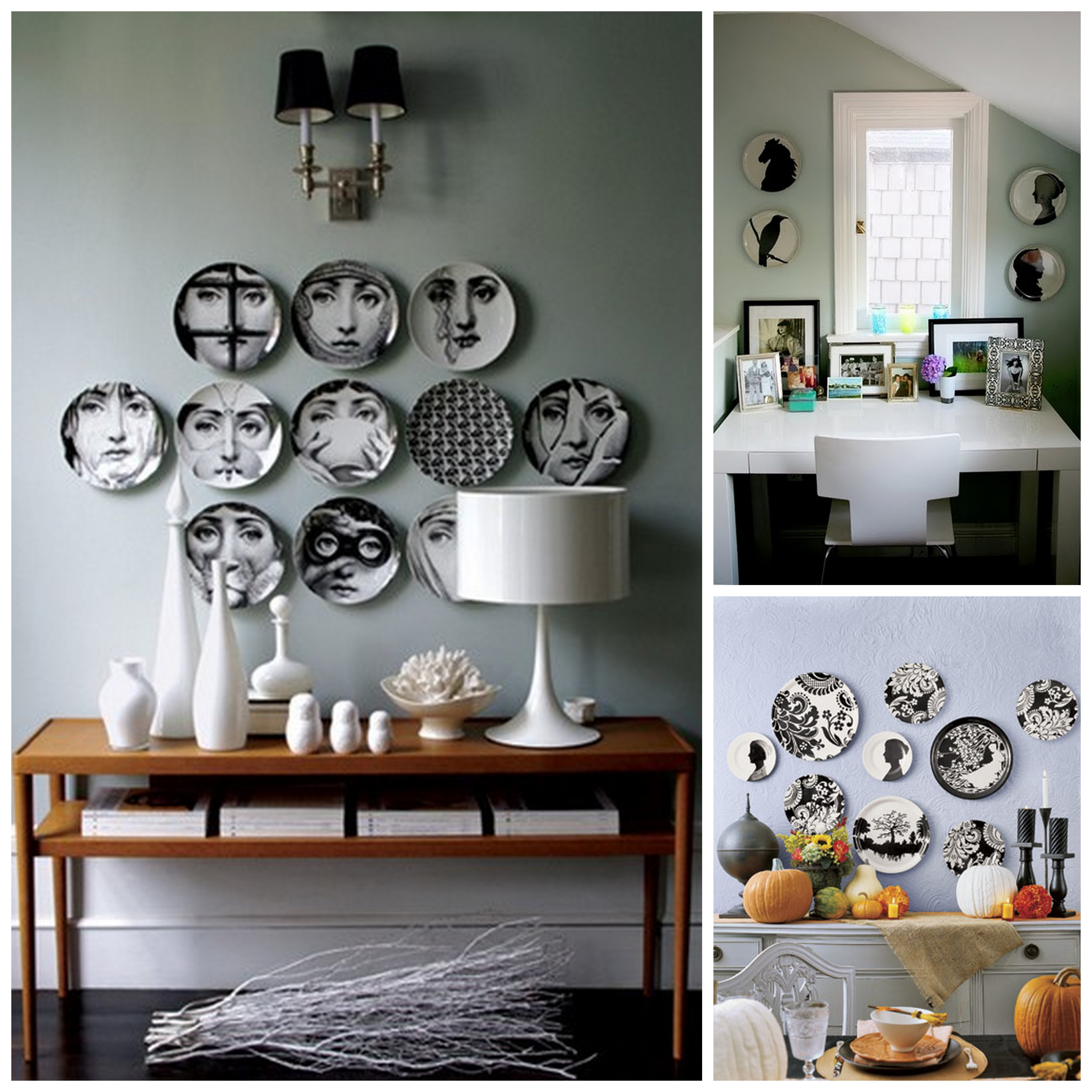 inspiration decorating with plates kalynor