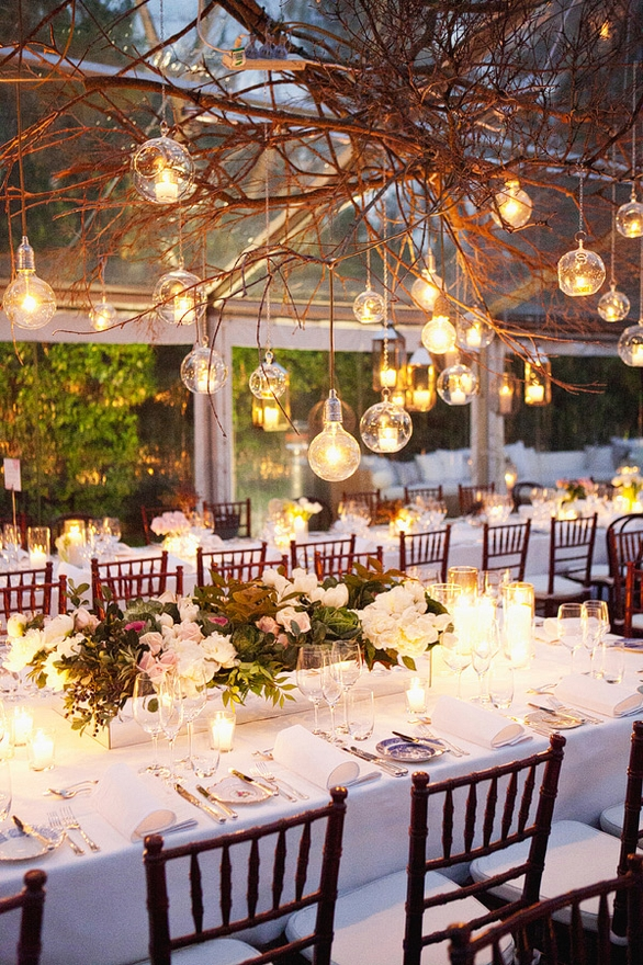 Summer Garden Wedding Theme Ideas : Images vestidadenoiva ruffled